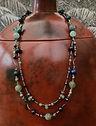 Handmade necklace, by Frances Riddel