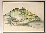 Hand Coloured Etching by Jacqui Tory