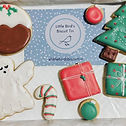 Box of hand decorated iced biscuits