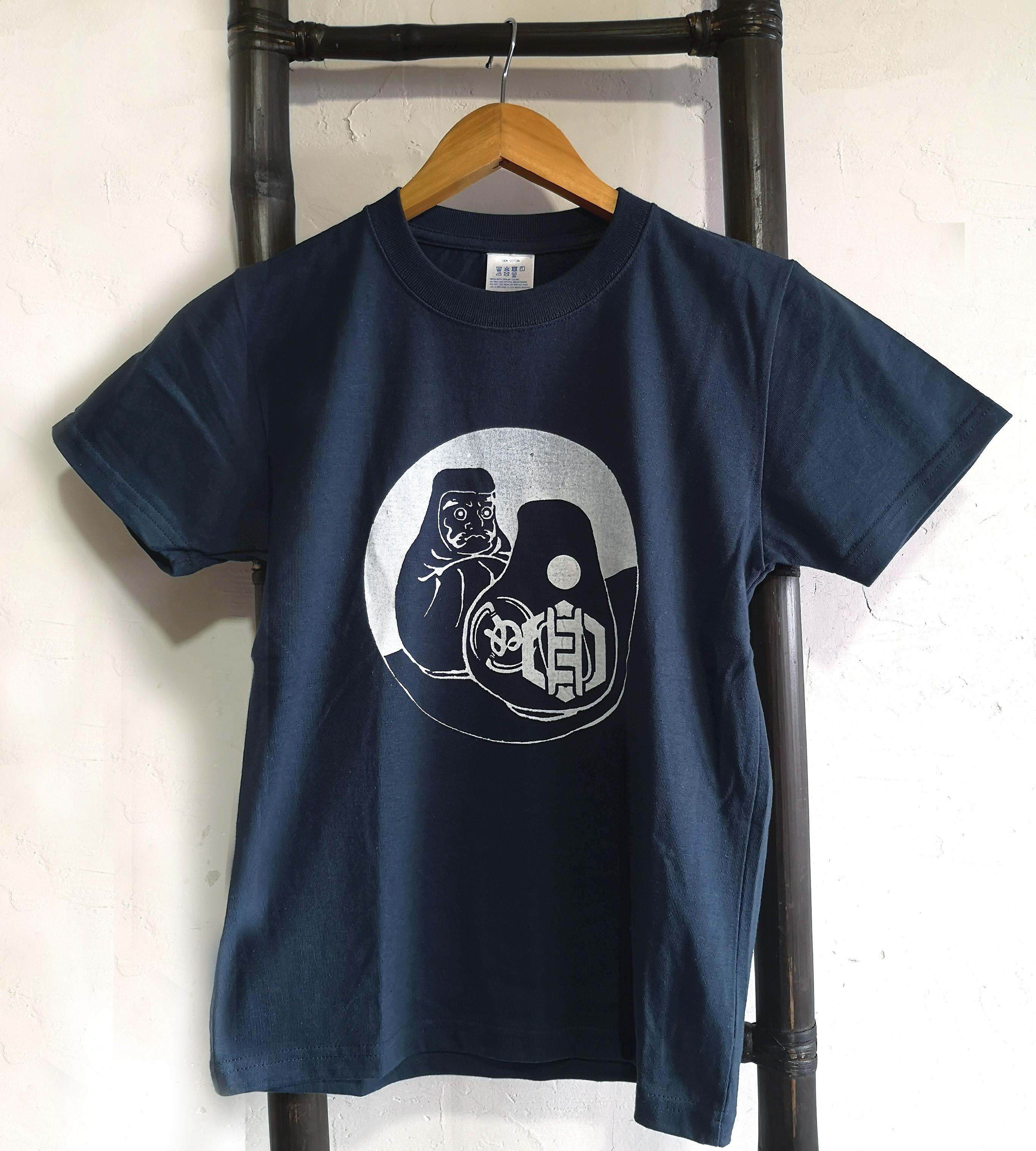 ダルマ 子供Tシャツ 140(Slate Blue)
