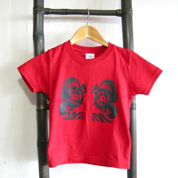 ダルマ武藏 子供Tシャツ 110