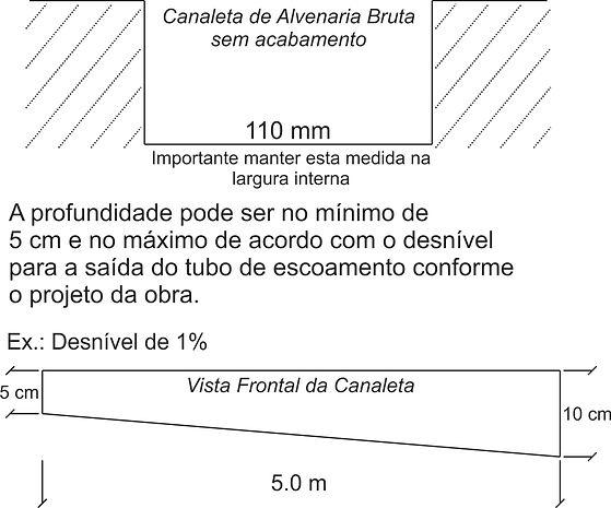 Ralo Linear Oculto p/ Entorno de Piscina
