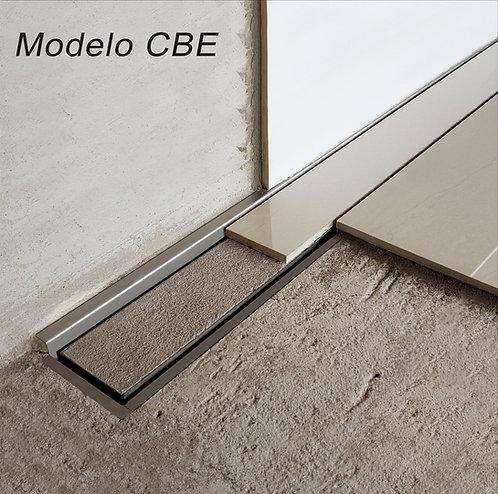 Ralo Linear Sifonado Modelo CBE/CBD Tampa Oculta 1.30 m
