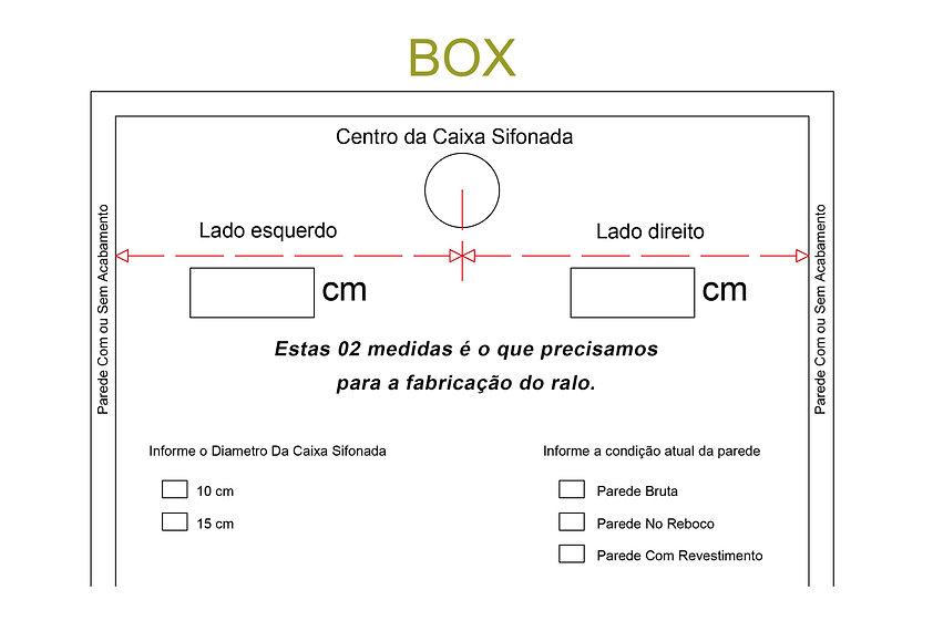 Ralo Linear Acoplado a Caixa Sifonada Residencial Sob medida