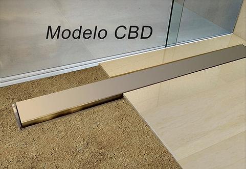 Ralo Linear Sifonado Modelo CBE/CBD Tampa Inox 0.60 m