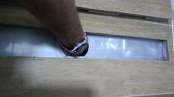 Ralo Linear Acoplado a Caixa Sifonada