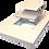 Thumbnail: Ralo Quadrado Oculto 18x18 cm Acoplado a Caixa Sifonada 150 mm