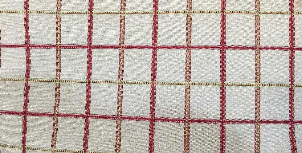 Window Pane Check - Pink and Green