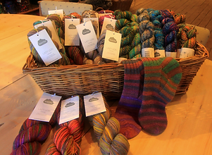 STIEL Wolwerkplaats - wolwinkel gespecialiseerd in natuurlijke garens en lonten verkoopt ook wol van Kremke Soul Wool