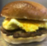 French Toas Bagel Breakfast Sandwich