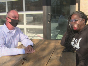 'We're all people': Amidst summer protests, Facebook disagreement leads to lasting friendship