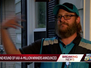 Delivery driver wins Ohio's $1 million Vax-a-Million jackpot: I got a lot of bills to pay