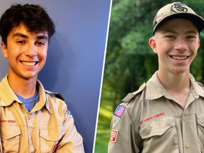 Heroic Boy Scouts help rescue woman from Hinkson Creek floodwaters