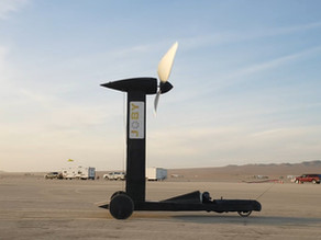 A wind-powered car that appears to defy physics wins Youtuber $10K bet
