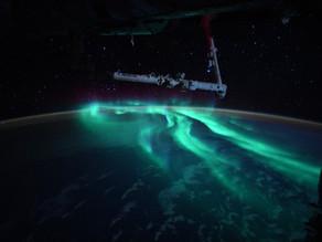 Astronaut Captures Photos of Rare Blue Aurora Illuminated by the Moon