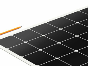 Company creates light, thin, flexible solar panels that 'peel and stick' to roofs