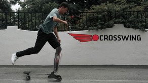 Crosswing the hybrid prosthetic leg and skateboard and other Michelin Challenge Design winners