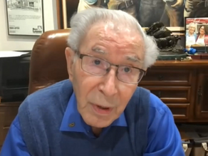 92-year-old Holocaust survivor advocates tolerance, compassion to students