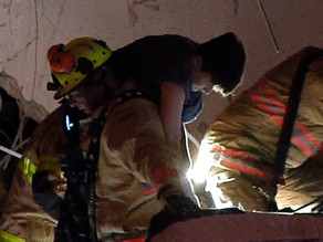 Heroic bystander helps free young boy from the Miami condo collapse rubble