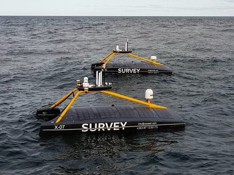 Crewless boats are mapping the ocean thanks to XOCEAN - an Irish startup