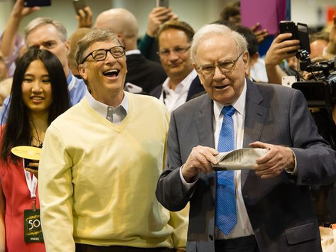 Warren Buffett gives away $4.1B of Berkshire Hathaway stock to 5 charitable foundations