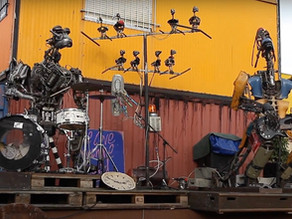 Meet the world's first punk rock band made completely of robots