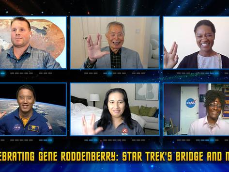 NASA Helps Celebrate Star Trek Creator Gene Roddenberry's Centennial