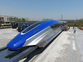 China rolls out the world's fastest maglev bullet train with a top speed of 600 km/h