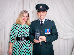 Police officer who donated kidney to little boy wins Sunday Life 999 Hero award