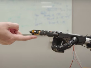Scientists invent new E-Skin for robots to interact with and feel their surroundings