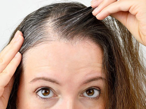 According to new research, stress induced grey hair is reversible