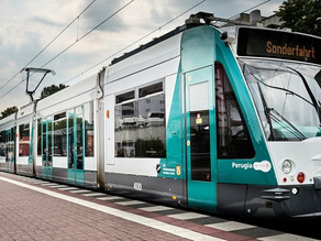 Germany unveils first-ever self-driving train