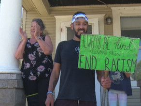 Gabriel Trevino runs for 381 consecutive days to combat bullying,  racism and promote kindness
