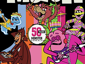 Monster Mash Breakfast to Celebrate fiftieth Anniversary Unite Cereal Monsters for This Halloween