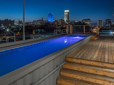 Shipping containers are becoming the coolest new swimming pools