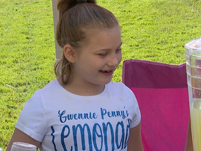 7-year-old's lemonade stand helping fund Brunswick's first inclusive playground