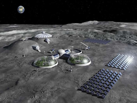 Cooking up water and oxygen from lunar soil