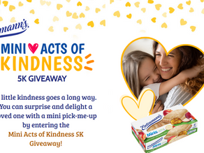 Entenmann's launches 'Mini Acts of Kindess' giveaway with $5,000 grand prize