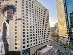 New Mural, Spotlighting World Hunger Unveiled in Oakland