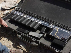 The first hand-held electric rail gun for non-lethal  public and law enforcement