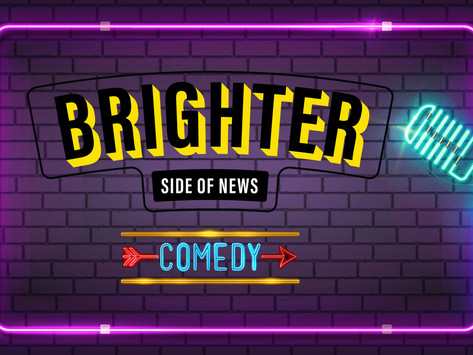 The Brighter 5:  Five funny comedians start your day with a laugh