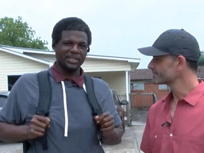 Act of Kindness: Business Owner Helps Homeless Man 'get back on his feet'