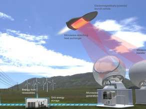 Microwave-powered rocket propulsion gets a boost