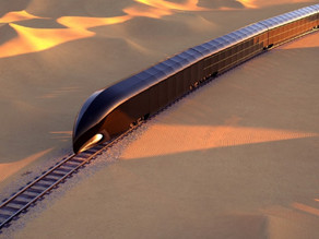 The G-Train could be your over-the-top US$350 million all-glass smart train