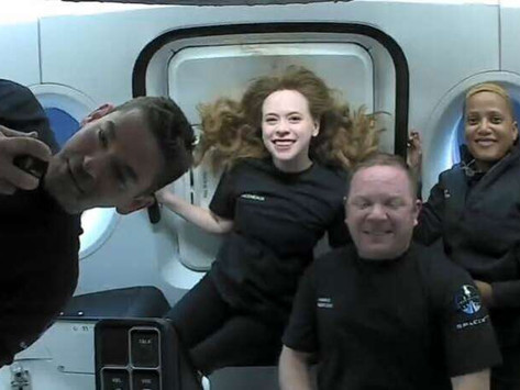 Tom Cruise gets sneak preview from SpaceX's 1st private crew