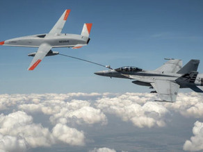 US Navy Successfully Tests Drone To Refuel Plane During Flight