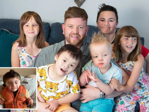 Selfless single man adopts his SIXTH child with special needs