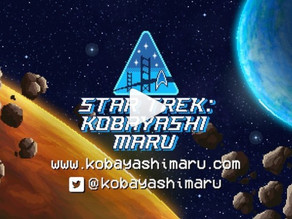 Prove your Starfleet mettle in a new Star Trek 8-bit web game