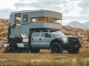 This New Ford Solar-Powered Camper Has Everything You Need to Live Off-the-Grid