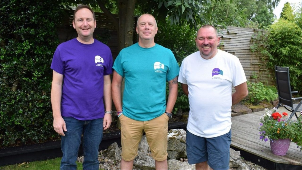 Three courageous fathers united by tragedy take on challenge to raise suicide awareness